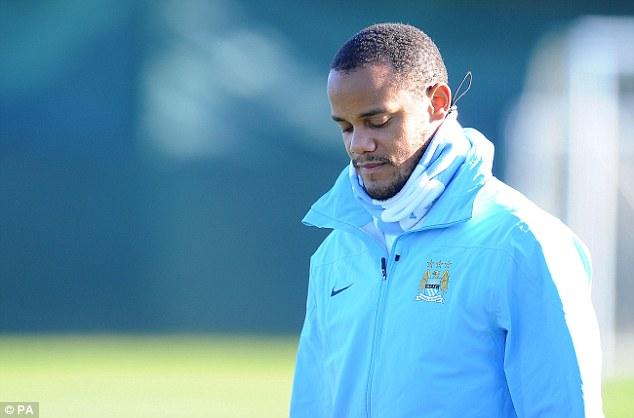 Missed: City have lacked stability in defence without their lynchpin defender