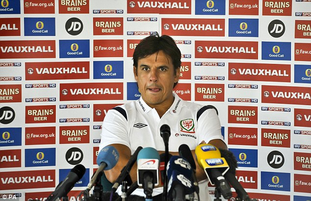 Off: Chris Coleman cancelled a press conference where he was due to reveal his Wales team. File picture