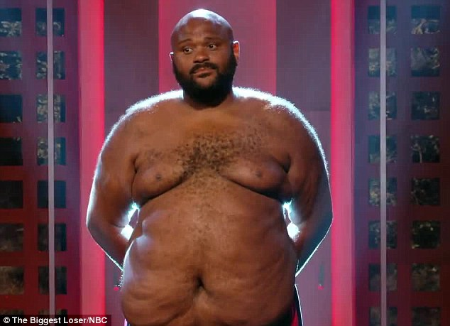 Eliminated: American Idol season two winner Ruben Studdard was eliminated from The Biggest Loser on Tuesday night