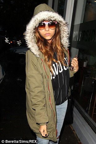 Little Mix: Jade Thirlwall and Perrie Edwards wrapped up for their journey to Riverside Studios