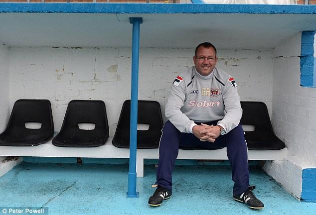 No 2: Greg Abbott spent five years in League One as Carlisle boss