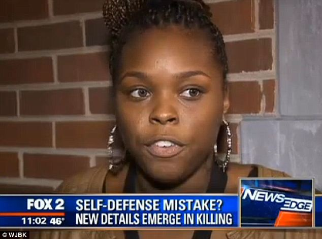 Angry: 'You wanted her dead,' said Dmetria Burnett of her cousin Renisha's killer. 'For somebody to shoot her in the head and not think twice about it? He shouldn't be free at all'