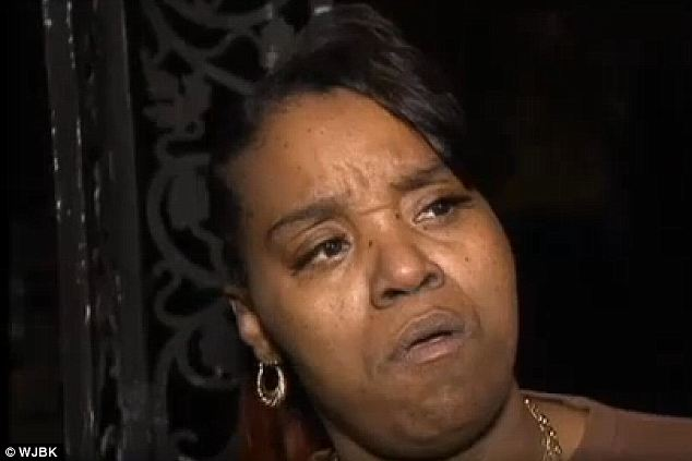 Suffering: Renisha's family, including her aunt Bernita Spinks, say she would never hurt anyone and was shot out of racism, though police reportedly told someone at the scene it was a self-defense case