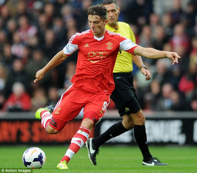 Big chance: Jay Rodriguez has been handed the chance to impress after being named in the England squad