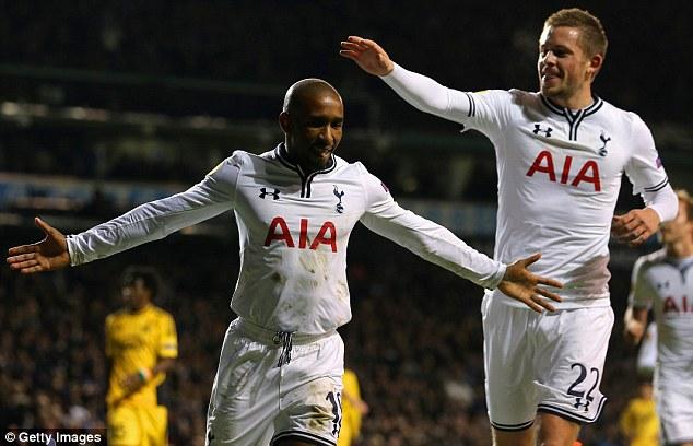 Possible return: Tottenham striker Jermain Defoe (left) has been linked with former club West Ham recently
