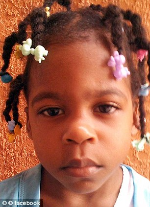 Victim: Viloude Louis, 5, was found unconscious on the floor after she was brutally beaten
