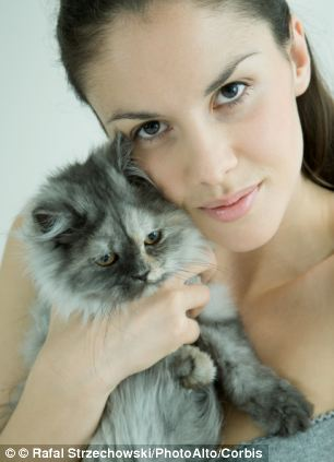 Asthma sufferers are a third more likely to be allergic to cats than those without the respiratory disease