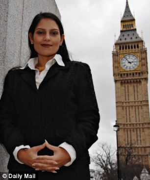 Tory MP Priti Patel has reported the union to police
