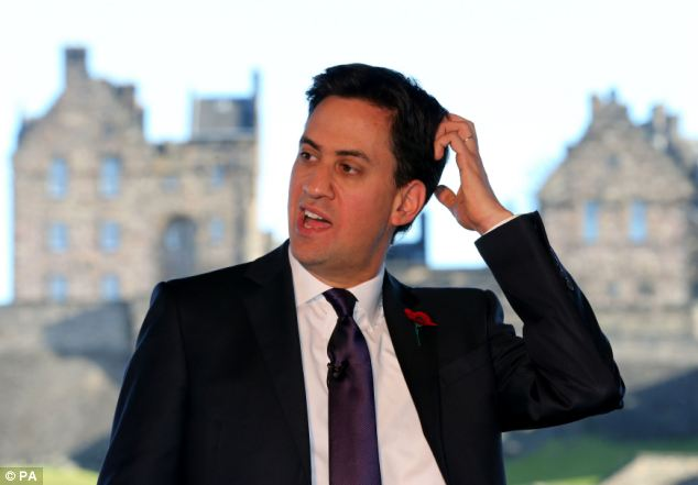 Ed Miliband, pictured in Edinburgh yesterday, is under increasing pressure to reopen an inquiry into Unite vote-rigging claims