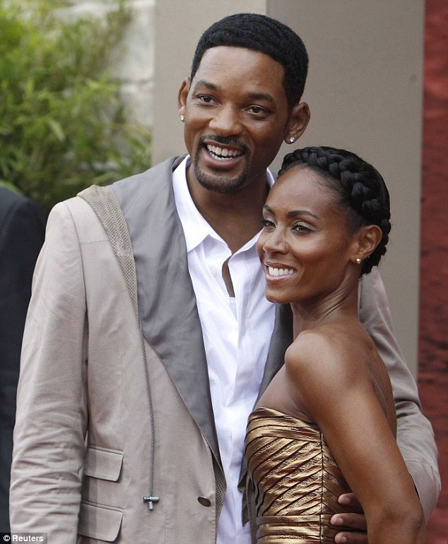 Marriage: Will has been marrried to actress Jada Pinkett Smith for 16 years, with the couple sharing two children together