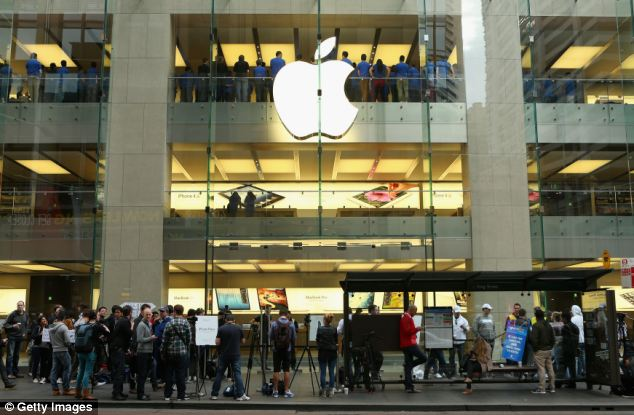 Apple flagship store in Sydney