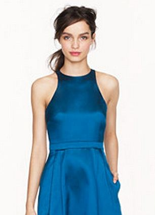 Collection twill flare dress £450 in store, £375 on UK website