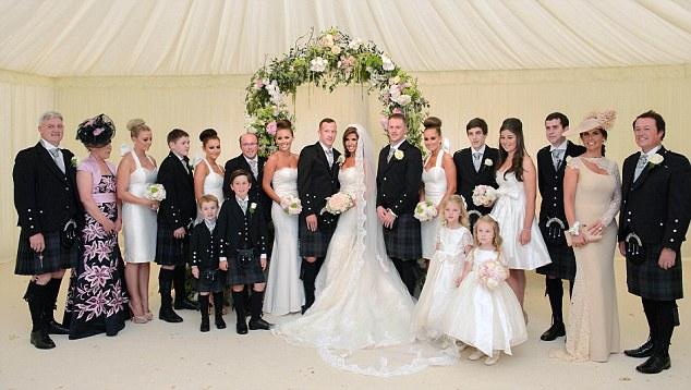 Wedding success: Adam married his wife Sophie-Leigh in June 2012