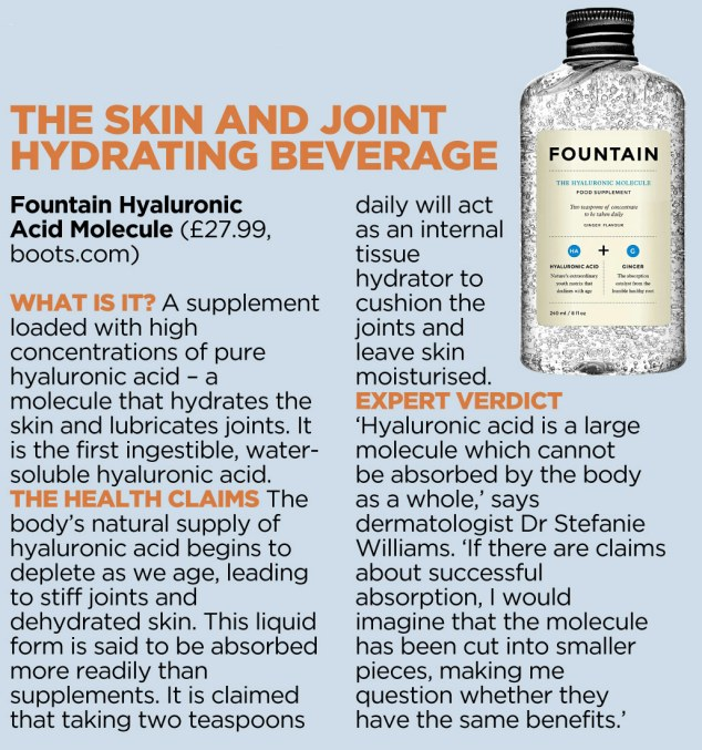 joint hydrating beverage