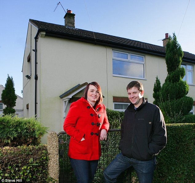 Moving in: Tina Peel and Greg Leach aim to improve their house