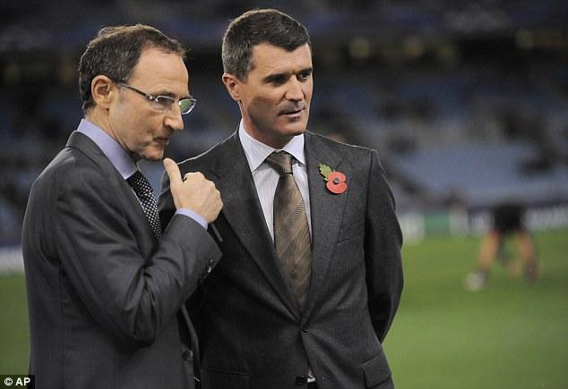 Dream team: Martin O'Neill (left) has been appointed Ireland boss alongside assistant Roy Keane