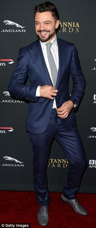 Dominic Cooper attends the 2013 BAFTA LA Jaguar Britannia Awards presented by BBC America