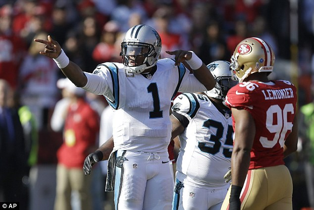 Move the chains: Newton was 16/32 for 169 yards in a defensive battle on the West Coast