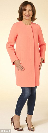 Coat, £350, jeans, £210, Goldsign for J.Crew, shoes, £375