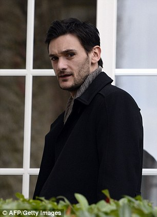 Fit: Lloris has recovered from the head injury he suffered when playing for Tottenham