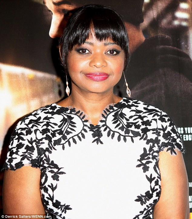 Mystery role: Oscar winner Octavia Spencer, who won the Best Supporting Actress Oscar for her role as Minny in the 2011 film The Help, will play a hospital administrator who publishes her first mystery novel