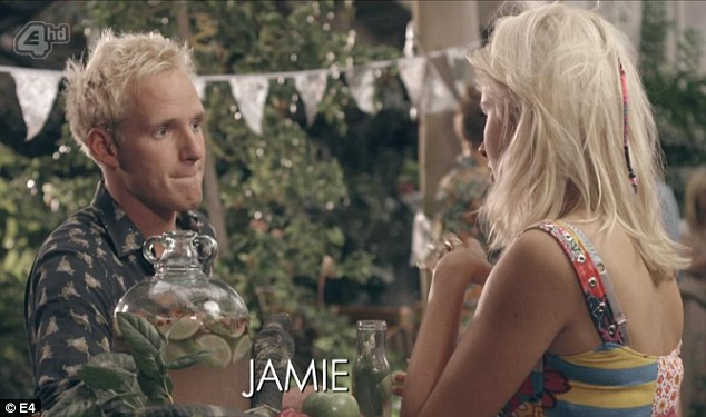 Making amends: Phoebe declares she 'misses' Jamie after previously confessing to having a boyfriend