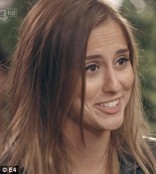 No love lost: Lucy Watson takes great delight in calling Phoebe-Lettice Thompson a hypocrite in Monday's episode of Made In Chelsea