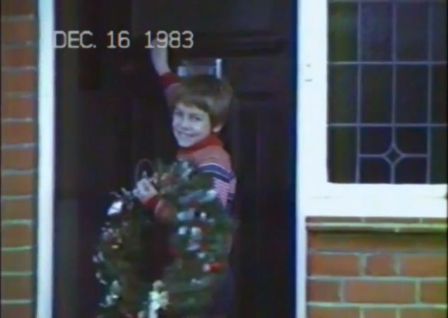 Memories: Tesco takes its prospective customers through the history of one family at Christmas every year