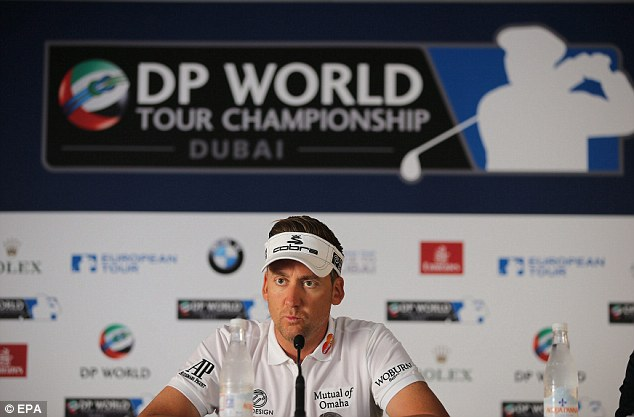 In the race: Ian Poulter is also in contention to win the Race to Dubai this week