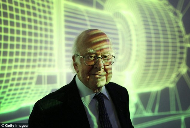 Professor Hawking also had a more personal reason to lament the discovery, which earned Edinburgh scientist Professor Peter Higgs, pictured, a £776,000 share of the Nobel Prize in Physics.