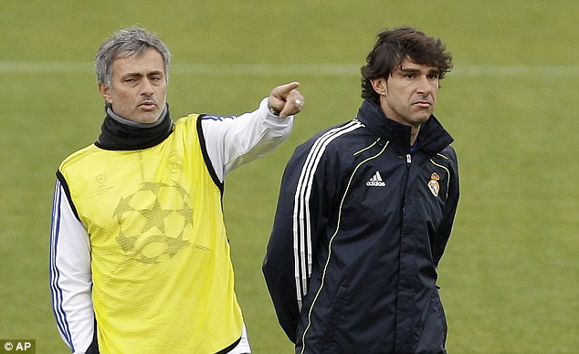 Interviewed: Karanka, seen here with former boss Mourinho, was in the running for the vacant job at Crystal Palace