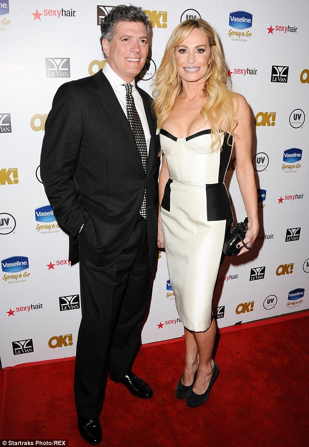 Real Housewife seeking advice: Taylor Armstrong and fiance John Bluher will also appear on the show alongside Farrah