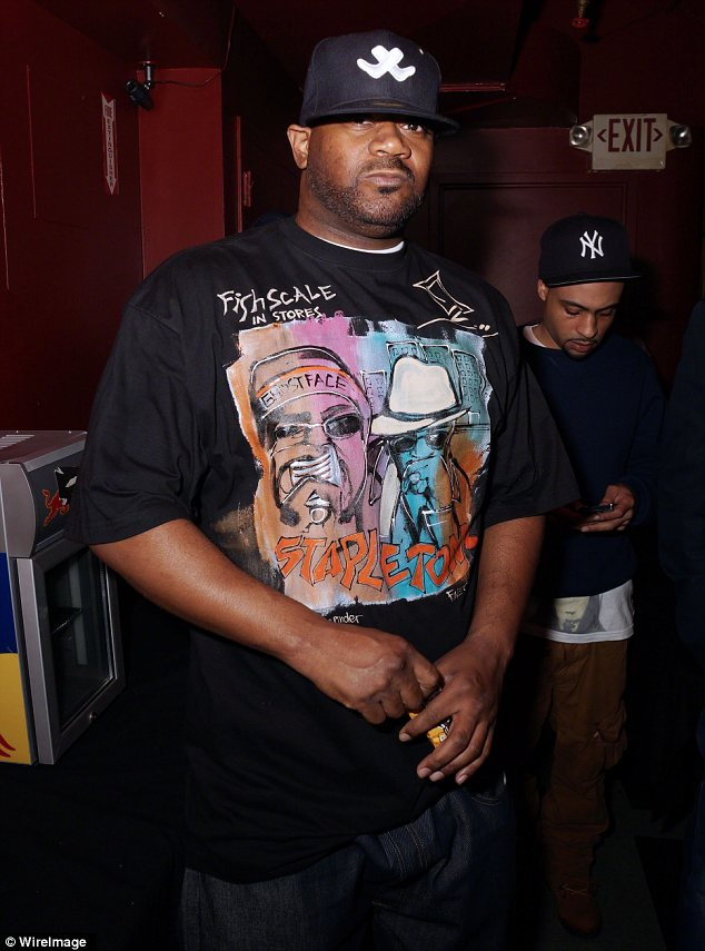 Working things out: Rapper Ghostface Killah will take part in the show with Kelsey Nykole