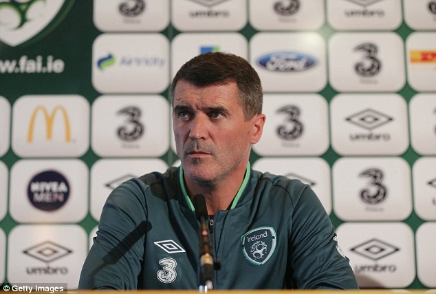 Back in the spotlight: Roy Keane came across well in his first press conference as Republic of Ireland assistant manager