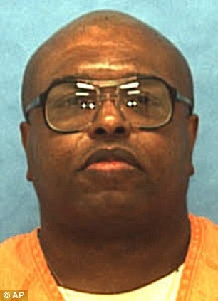 Death row: Darius Kimbrough was executed by lethal injection on Tuesday evening