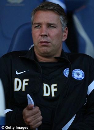 Peterborough United manager Darren Ferguson
