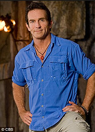 'No blue shirt!': Probst will leave his trademark blue shirt behind for his guest spot on Two and a Half Men