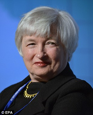 Fed chair: Janet Yellen argued that quantitative easing is essential to supporting a fragile economy