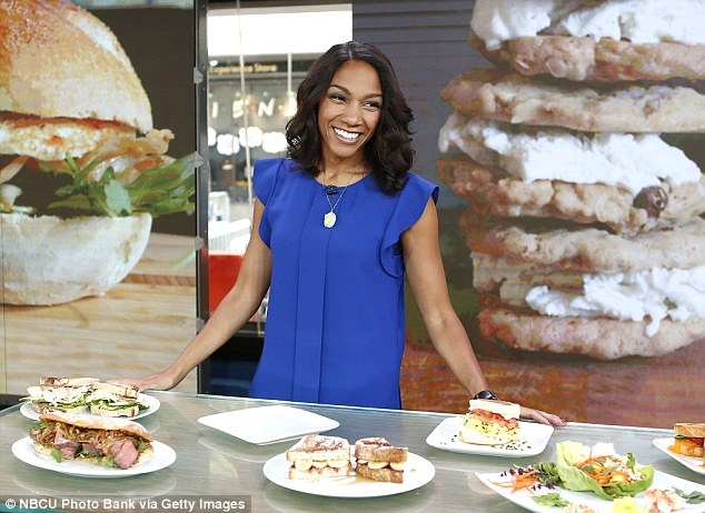 Winning recipes: Stephanie Smith says her blog about making 300 sandwiches for her boyfriend in a bid to get him to propose started out as a 'joke', but now she has scored a major book deal.