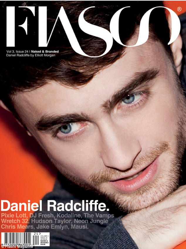 Life after Harry: Daniel Radcliffe tells Fiasco Magazine he thinks an action film would be fun but his real talents lie with 'indie' films