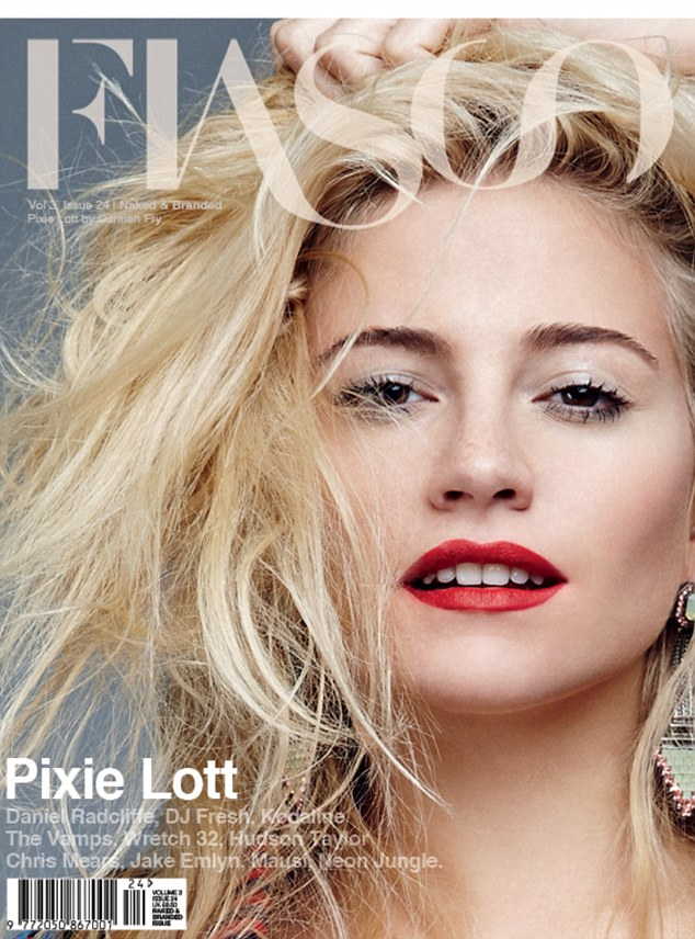 Cover Girl: Pixie Lott on the cover of Fiasco Magazine talks about her new Motown inspired album and hopes to crack America