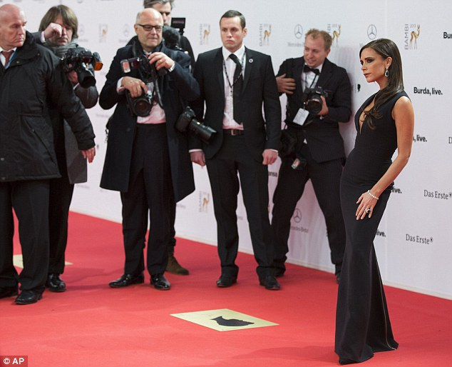Big night: The Bambi Awards are Germany's biggest ceremony, attracting A-list stars from around the world