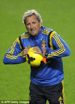 Sweden's coach Erik Hamren