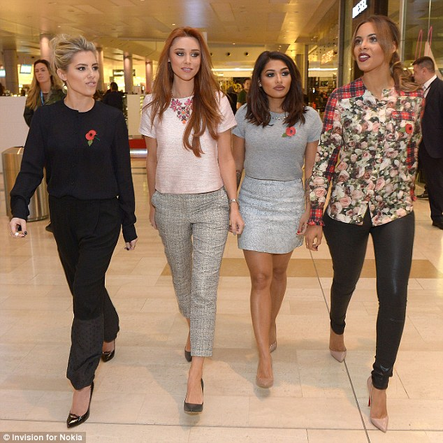 Fly-on-the-wall: The Saturdays could follow in the footsteps of the Kardashians and make another seires of their E! show, Chasing The Saturdays, in the future