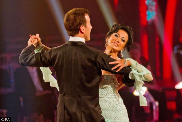 Dancing Queen: Nancy and Anton Du Beke dance the waltz as they compete in the BBC programme Strictly Come Dancing in 2011