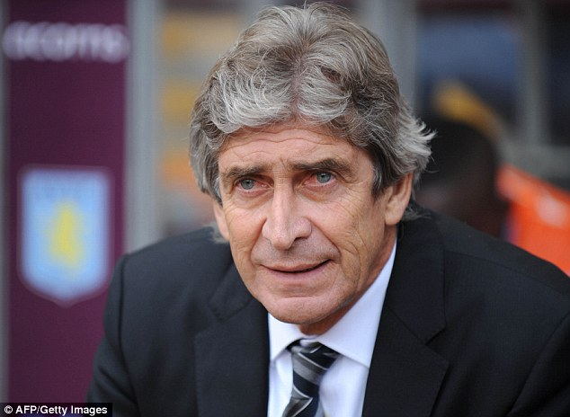 Free to leave: City boss Manuel Pellegrini has told Ibrahim he can leave, alerting Arsenal, Everton and Celtic