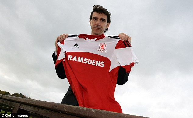 Bold move: Forner Real Madrid No 2 Aitor Karanka has taken over as manager of Middlesbrough