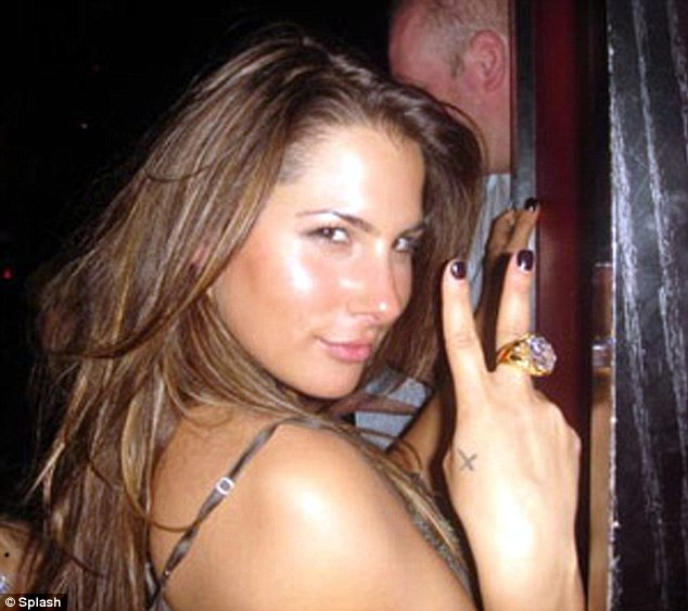 Client 9: Baber worked at Emperors Club with Dupre (pictured above), who went by the name Kristen and was caught by federal investigators setting up 'meetings' with Spitzer