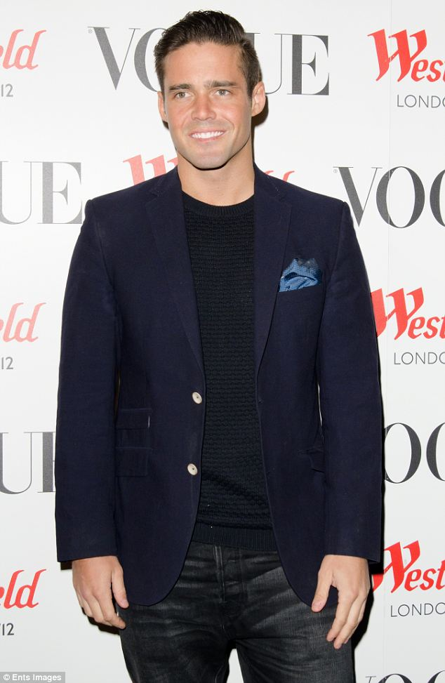 Expensive tastes: Made in Chelsea's  Spencer Matthews posted a bar receipt for almost half a million pounds on Twitter after attending Morton's club in Mayfair