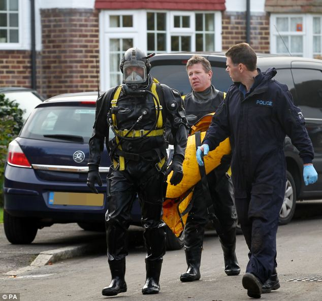Evidence found by the divers at the scene indicated that the body had been placed in the well, police said